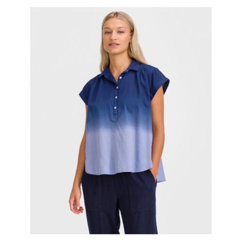 GAP Pleat Popover Bluzka Niebieski