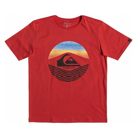 koszulka Quiksilver Stomped On - RQC0/High Risk Red
