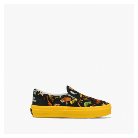 Buty dziecięce sneakersy Vans x National Geographic UY Classic Slip-On VN0A4BUTWK61