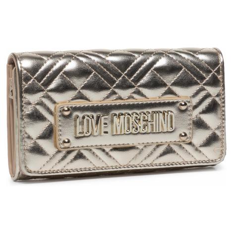 Duży Portfel Damski LOVE MOSCHINO - JC5623PP0AKA0900 Platino
