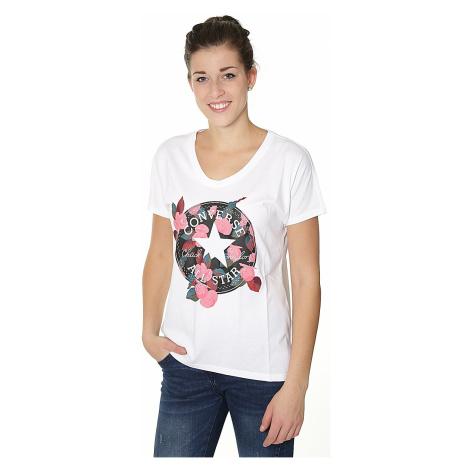 koszulka Converse Floral CP Femme/10004655 - A02/White