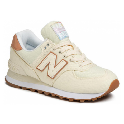 New Balance Sneakersy WL574SCB Beżowy