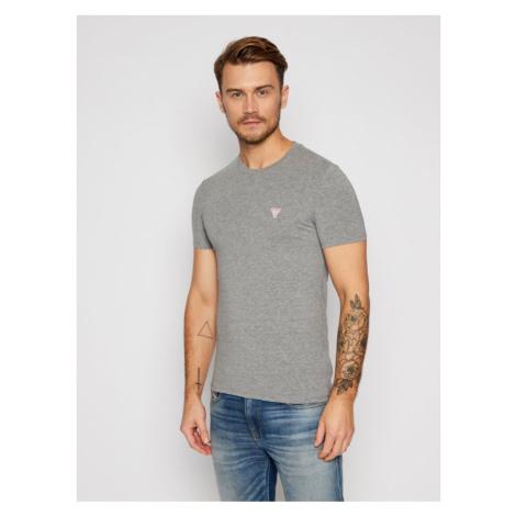 Guess T-Shirt M0BI24 J1311 Szary Super Slim Fit