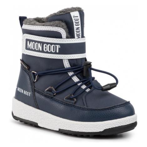Moon Boot Śniegowce Jr Boy Boot Wp 34051600003 M Granatowy