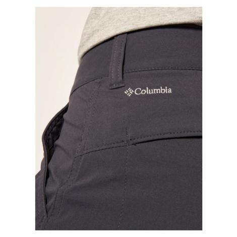 Columbia Spodnie outdoor Saturday Trail 1579861 Granatowy Regular Fit