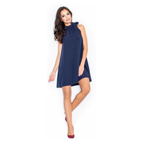 Figl Woman's Dress M277 Navy Blue