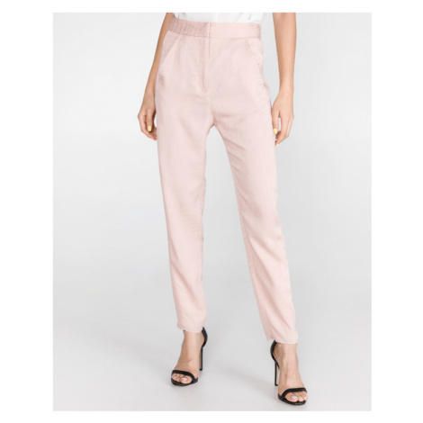 Just Cavalli Spodnie Różowy