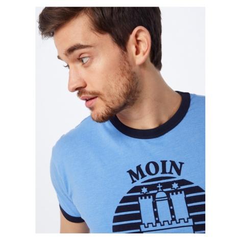 Derbe Koszulka 'Hans' niebieski / czarny