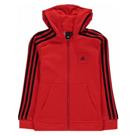 Adidas Athletics Club Full Zip Hoodie Junior Boys