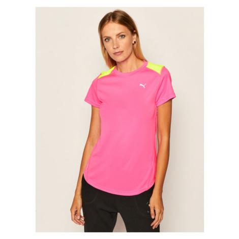 Puma Koszulka techniczna Ignite Ss 518255 Różowy Regular Fit