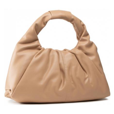 Beżowe damskie hobo torebki