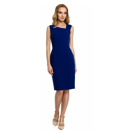 Made Of Emotion Woman's Dress M397 Royal