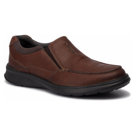 Półbuty CLARKS - Cotrell Free 261315667 Tobacco Leather
