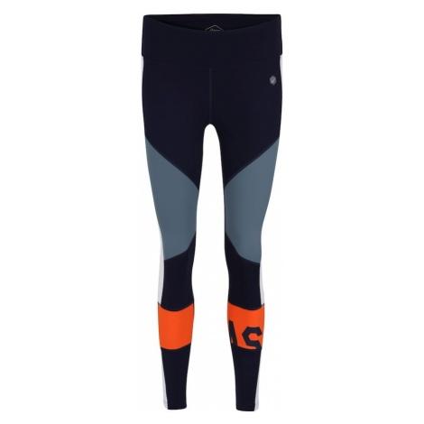 ASICS Spodnie sportowe niebieski / szary / pomarańczowy