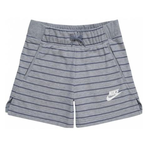Nike Sportswear Spodnie gołąbkowo niebieski / jasnoszary