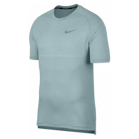 Nike Dri-FIT Medalist Short-Sleeve Top M Szaro-Zielona