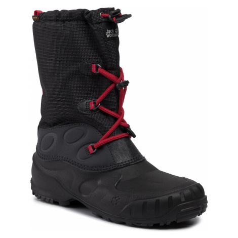 Śniegowce JACK WOLFSKIN - Iceland Taxapore High K 4020561 Black/Red D