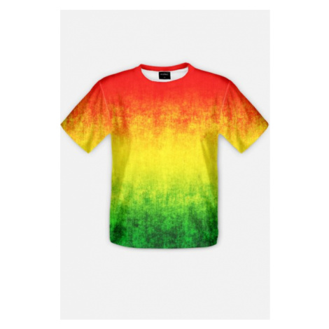 T-shirt męski imr3vil ''rasta''