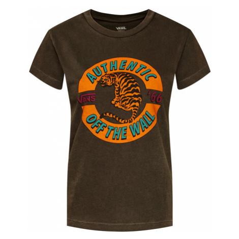Vans T-Shirt Charra VN0A4SDG Szary Regular Fit