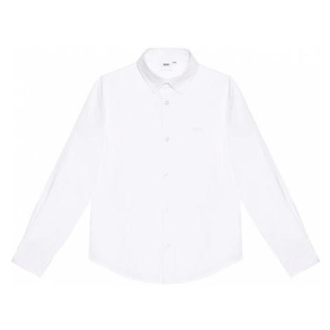 Boss Koszula J25L26 S Biały Regular Fit Hugo Boss