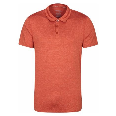 Zakti Agra - męskie polo - Orange