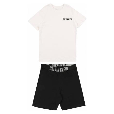 Calvin Klein Underwear Piżama czarny / biały