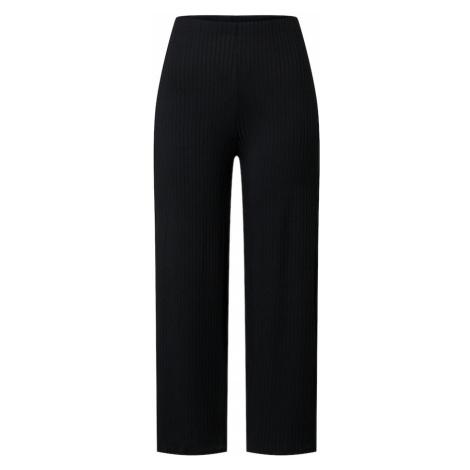 NEW LOOK Spodnie 'Carly Rib Crop' czarny
