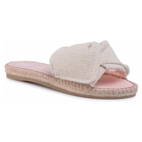 Espadryle MANEBI - Sandals With Knot B 3.0 J0 Cream