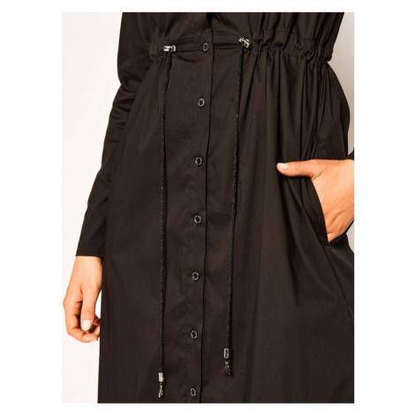Patrizia Pepe Sukienka koszulowa 2A2107/A23-K103 Czarny Regular Fit