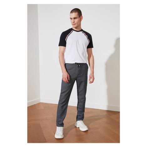 Trendyol Indigo Męskie koronkowe spodnie detail