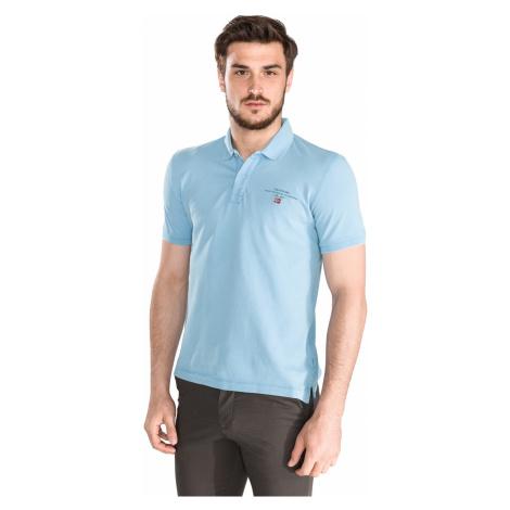 Napapijri Elabas 2 Polo Koszulka Niebieski