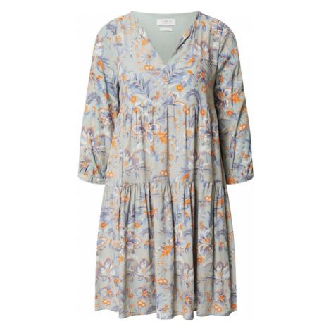Rich & Royal Sukienka pomarańczowy / miętowy / fioletowy / biały