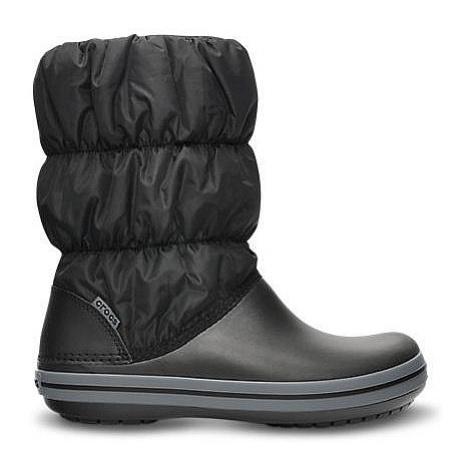 buty Crocs Winter Puff Boot - Black/Charcoal