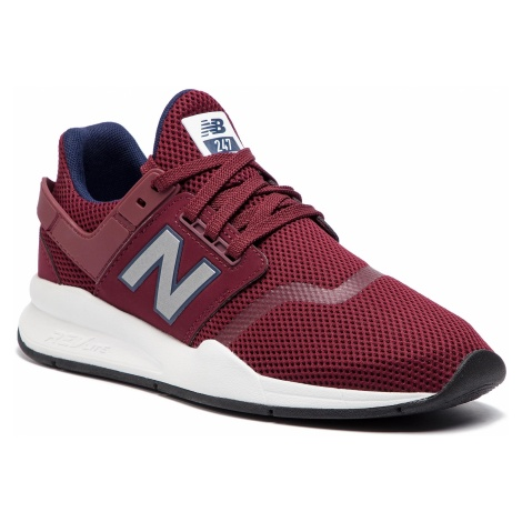 Sneakersy NEW BALANCE - MS247FG Bordowy
