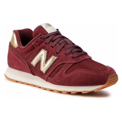 Sneakersy NEW BALANCE - WL373FA2 Bordowy