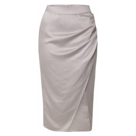 Miss Selfridge Spódnica srebrno-szary