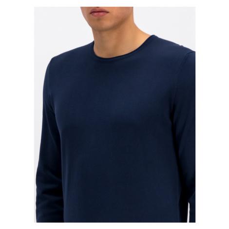 Marc O'Polo Sweter 927 5008 60074 Granatowy Regular Fit