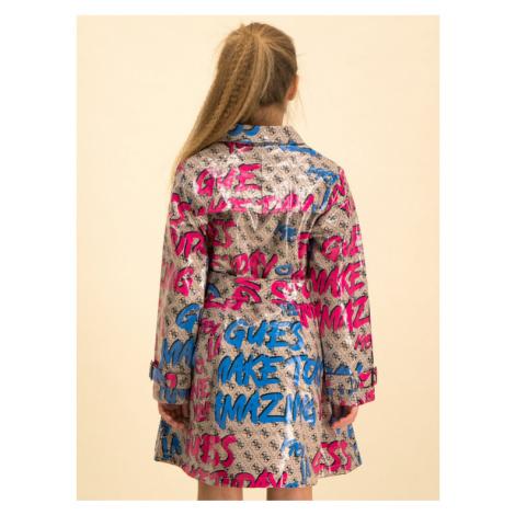 Guess Płaszcz J01L00 WCL30 Kolorowy Regular Fit