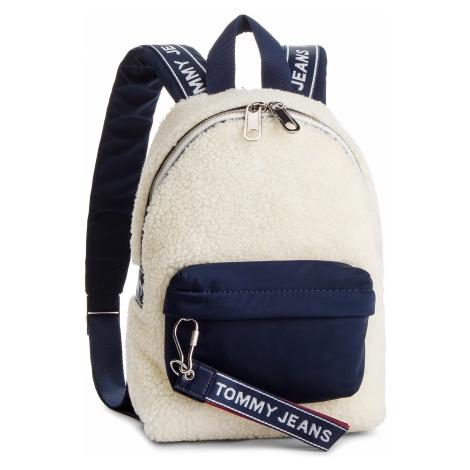 Plecak TOMMY JEANS - Tju Logo Tape Micro Backpack Flc AU0AU00392 902 Tommy Hilfiger