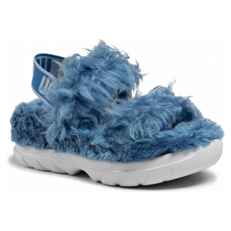 Sandały UGG - W Fluff Sugar Sandal 1119999 Blu