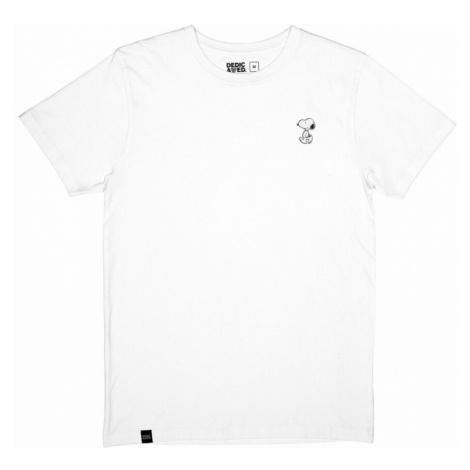 Dedicated, Camiseta Stockholm Snoopy Biały, male, rozmiary: