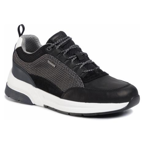 Sneakersy GEOX - U Rockson B Abx A U947WA 04314 C0017 Black/Grey