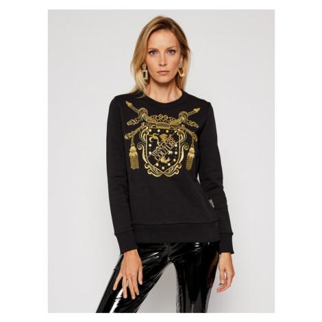 Versace Jeans Couture Bluza B6HZB7TS Czarny Regular Fit