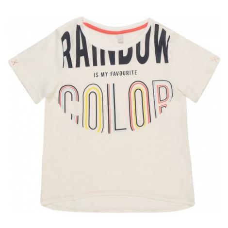 ESPRIT Koszulka 'TEE-SHIRT' mieszane kolory / biały