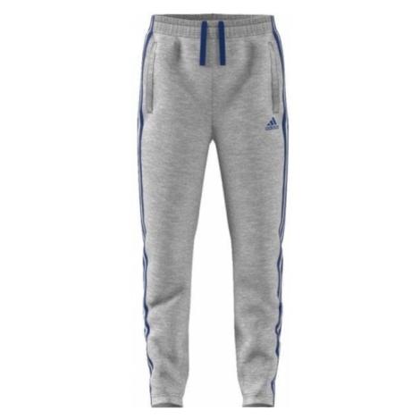 Adidas spodnie sportowe YB 3Stripes Ft Pant Blue Night/White