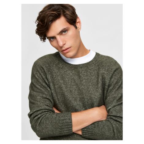 Selected Homme khaki sweter męski