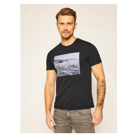 Levi's® T-Shirt Graphic Crewneck Tee 22491-0743 Czarny Regular Fit Levi´s