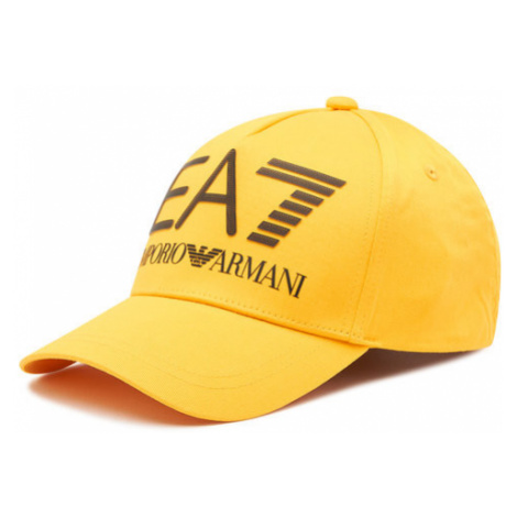 EA7 Emporio Armani Czapka z daszkiem 275916 1P104 82300 Żółty