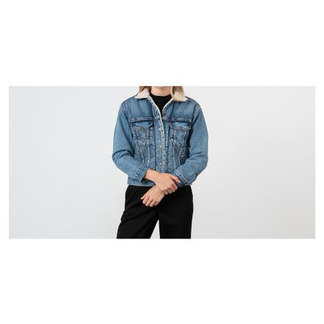 Levi's® Ex-Boyfriend Trucker Jacket Blue Levi´s