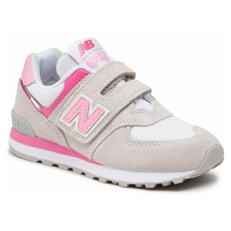 Sneakersy NEW BALANCE - PV574SA2 Szary